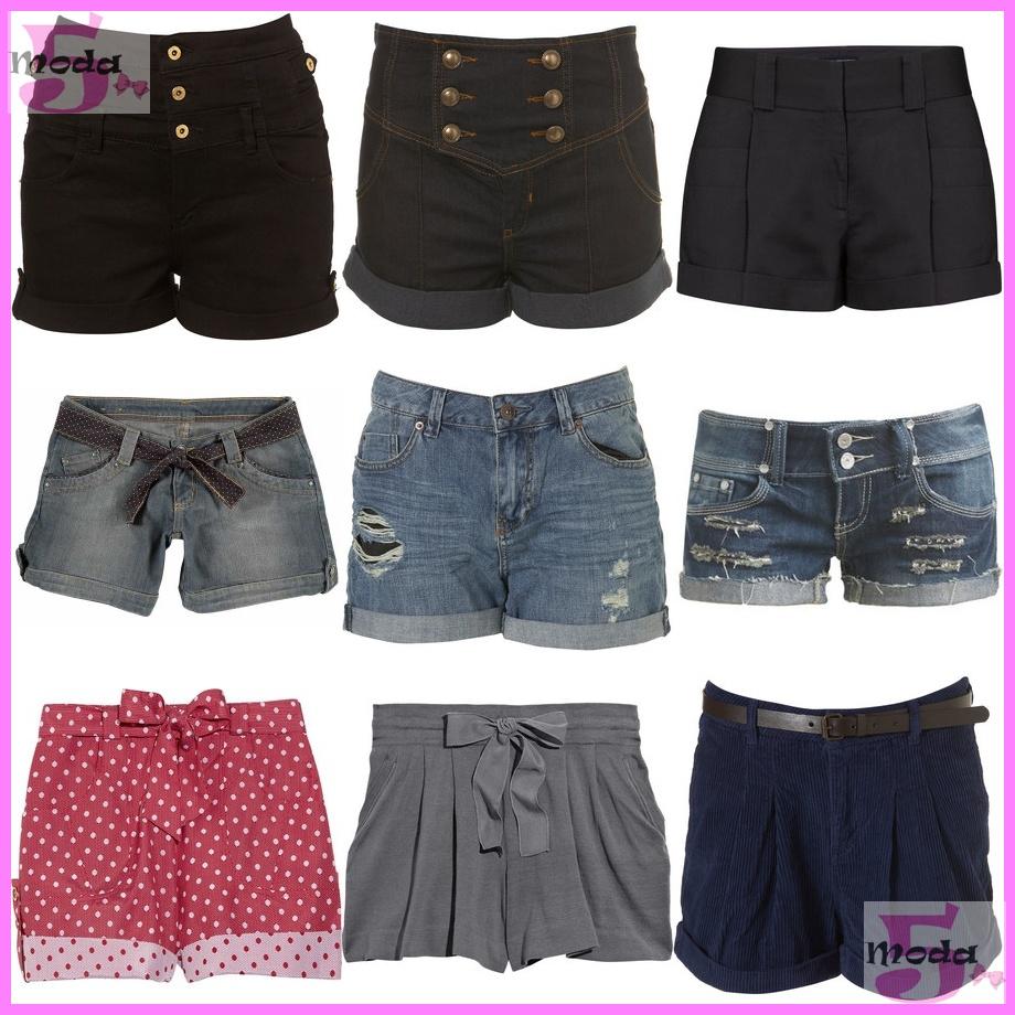 9ef62ebb2 Temos os shorts mais estruturados, os mais leves e com estampas alegres, os  de cintura alta, e os jeans =D Agora ...