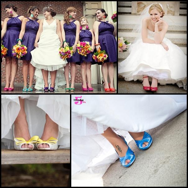 34c5183f3f Sapatos coloridos revelam ...