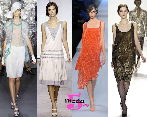 Anos 20, melindrosas, moda, vestidos