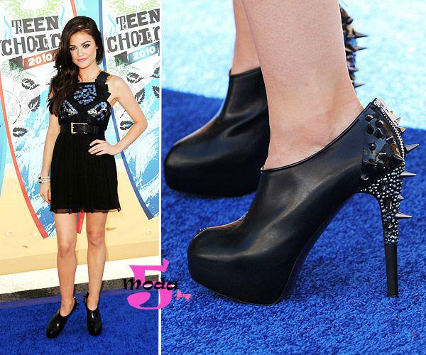 Spikes, tachas, sapatos, Lucy Halle