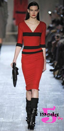 Victoria Beckham, coleção de outono 2012, desfile