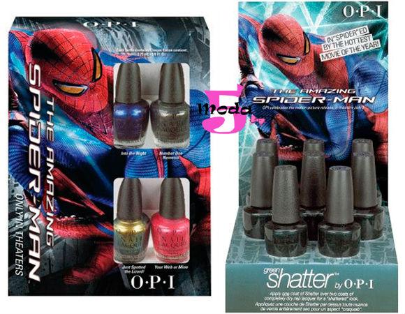 Homem-aranha, OPI, esmaltes, Espetacular homem-aranha
