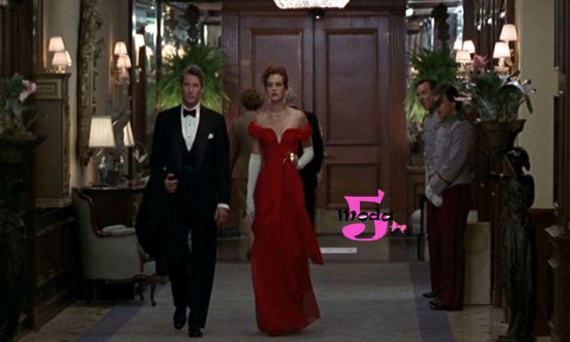 Figurinos marcantes, óscar, melhor figurino, julia roberts, uma linda mulher, richard gere, vermelho valentino