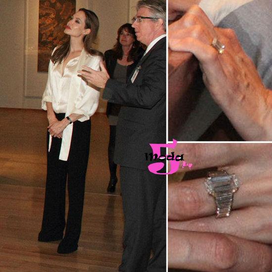 Anéis de noivado, Angelina Jolie, casamento, mês das noivas, diamantes