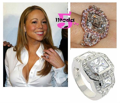 Anéis de noivado, Mariah Carey, casamento, mês das noivas, diamantes