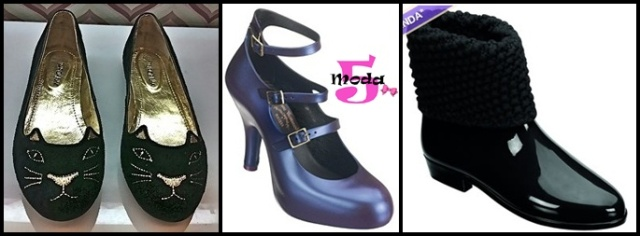 Sapatilha Imporium, Melissa TSE e Ankle Boot