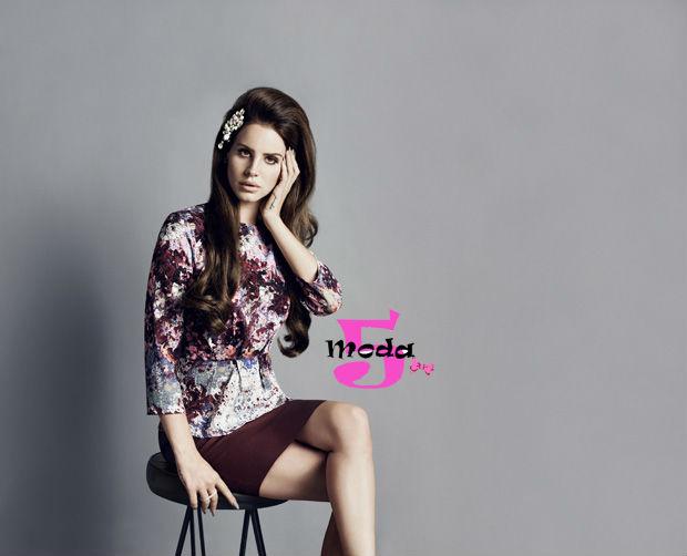 Lana Del Rey, H&M, outono-inverno, coleção