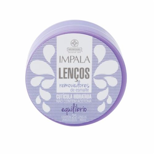 Lenços Removedores de Esmalte, Impala