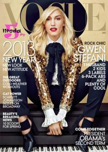 Vogue - Gwen Stefani capa