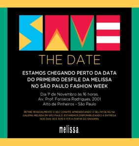 Melissa save the date spfw